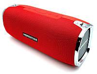 Портативная беспроводная стерео колонка Hopestar A6 c Bluetooth, USB и MicroSD Красная
