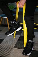 """Хлопковые мужские молодежные носки """"Тату"""" черные, фото 1"""