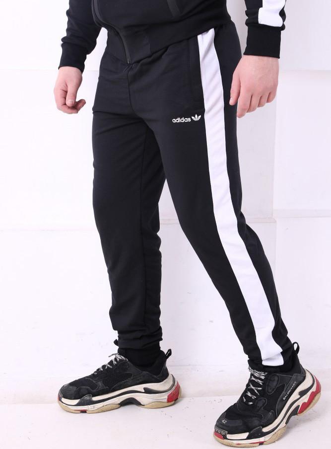 Спортивные штаны Adidas 19779 черные