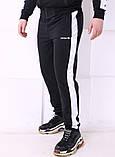 Спортивные штаны Adidas 19779 черные, фото 2