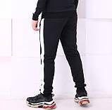 Спортивные штаны Adidas 19779 черные, фото 3
