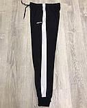 Спортивные штаны Adidas 19779 черные, фото 7