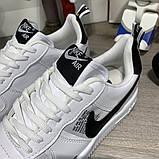Кроссовки мужские Nike Air Force 1 LV8 Utility 19730 белые, фото 2