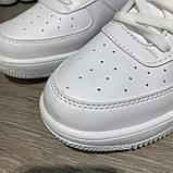 Кроссовки мужские Nike Air Force 1 LV8 Utility 19730 белые, фото 3