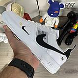 Кроссовки мужские Nike Air Force 1 LV8 Utility 19730 белые, фото 4