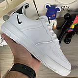 Кроссовки мужские Nike Air Force 1 LV8 Utility 19730 белые, фото 5