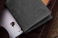 Чоловічий гаманець шкіряний вертикальний Betlewski RFID