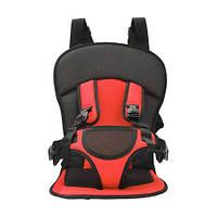 Бескаркасное автокресло детское кресло для авто Mylti Function Car Cushion красный