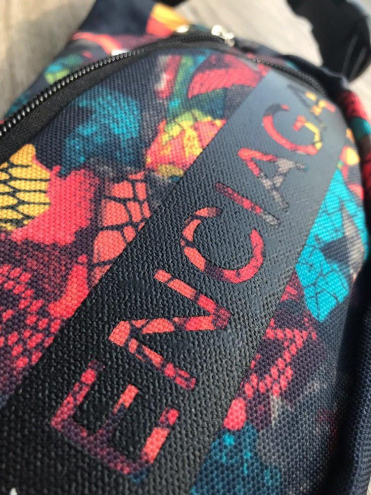 Поясная сумка BALENCIAGA разноцветная