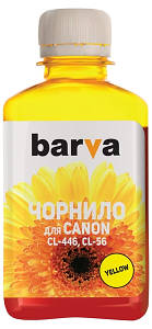 Чернила Barva Canon CL-446/CL-56 (I-BAR-CCL446-180-Y) Yellow