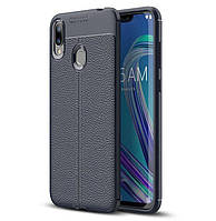 Чехол Touch для Asus Zenfone Max M2 / ZB633KL / x01ad 4A070EU бампер Blue