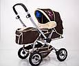 Детская прогулочная коляска с перекидной ручкой Sigma H-538AF (надувные колеса), фото 3