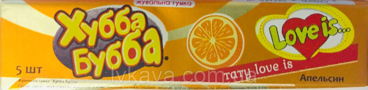 Жевательная резинка Хубба Бубба апельсин , 20  гр