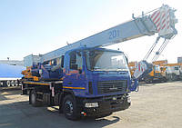 Новый автокран КС-45729-С-02 Машека 20 тонн на шасси МАЗ, фото 1