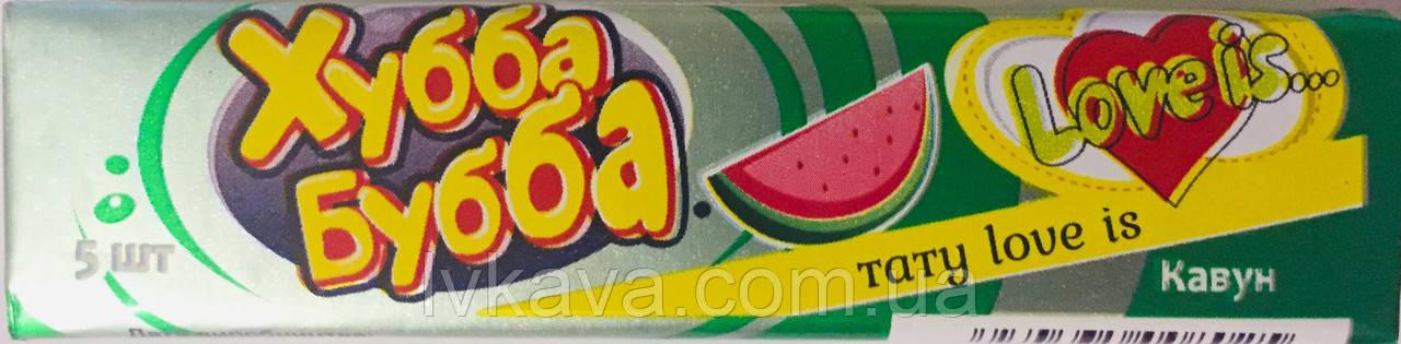 Жевательная резинка Хубба Бубба арбуз , 20  гр