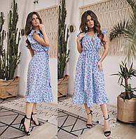 Женское летнее платье.Размеры:42-46.+Цвета , фото 1