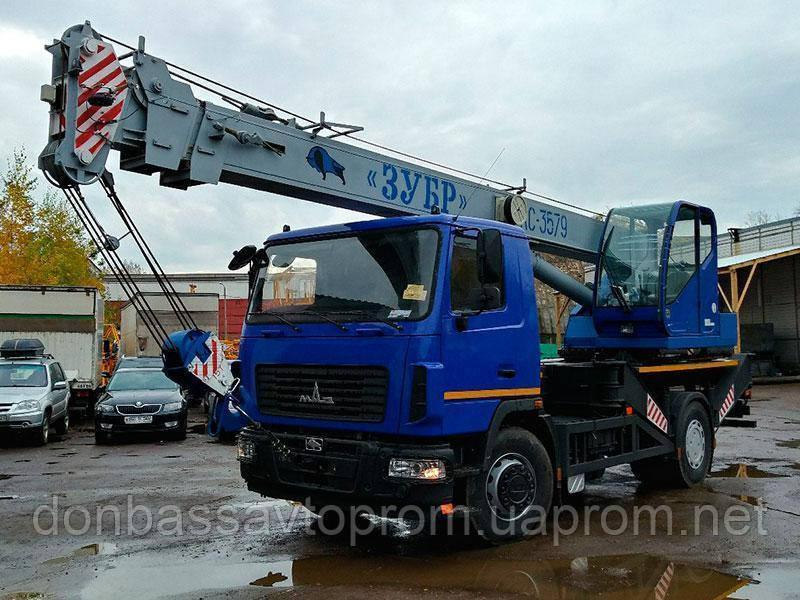 Новый автокран КС-3579-С-02 Машека «Зубр» 15тонн