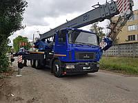 Новый автокран КС-55727-С-12 Машека «Зубр» 25 тонн. Длина стрелы 28 м.