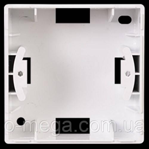 Коробка для наружного монтажа Gunsan Visage, белая