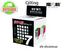 Кубик Рубика 7х7 Qiyi QiXing  (чёрный), фото 1