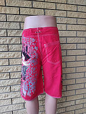 Шорты мужские брендовые на липучке со шнуровкой реплика RIP CURL, фото 3