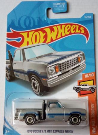 Машинка Hot Wheels 2019 1978 Dodge Li'l Red Express Truck