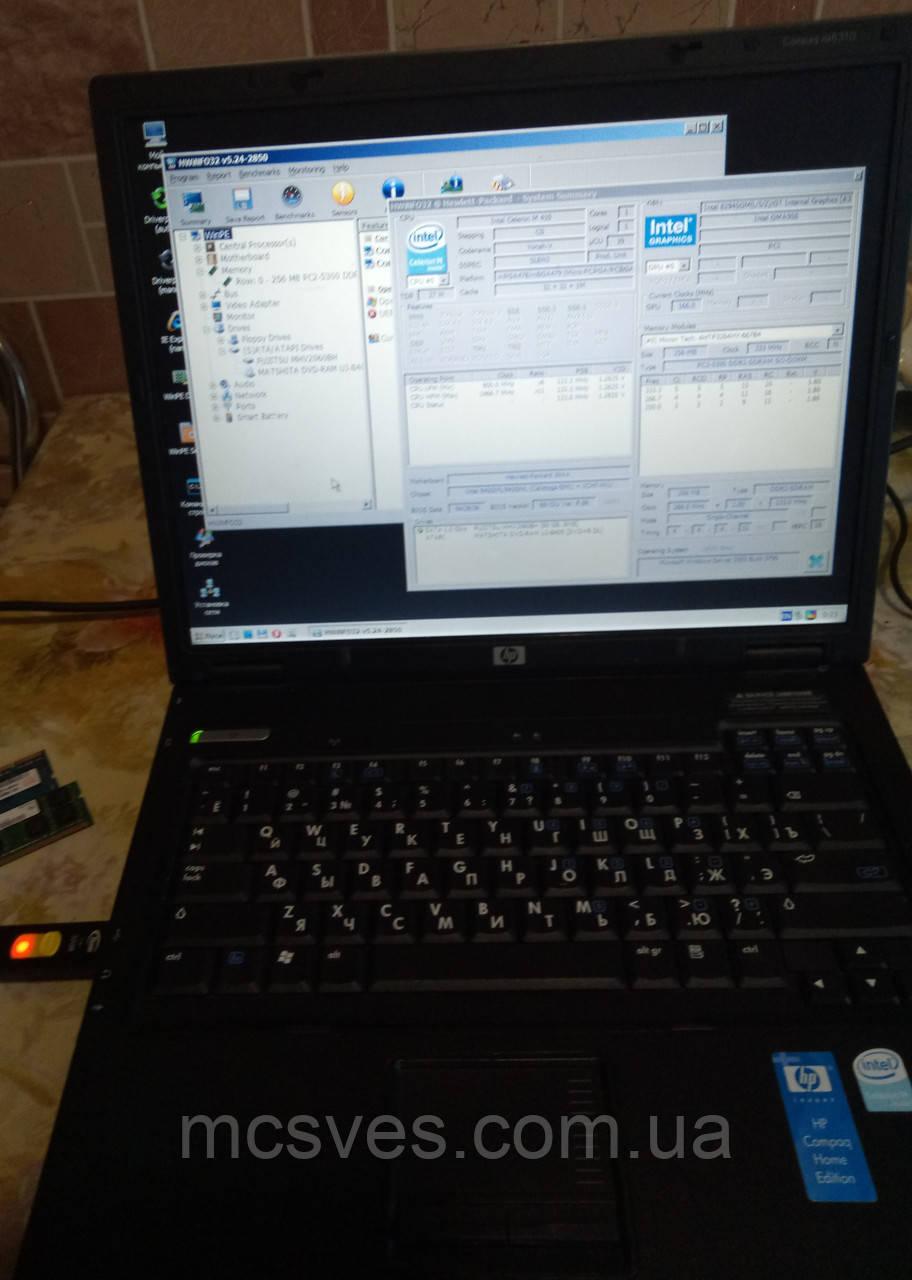 Ноутбук HP Compaq nx6310 HDD 60 Gb