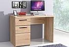 Стол письменный CMBB21-Q29 COMBINO Forte дуб сонома/венге, фото 2