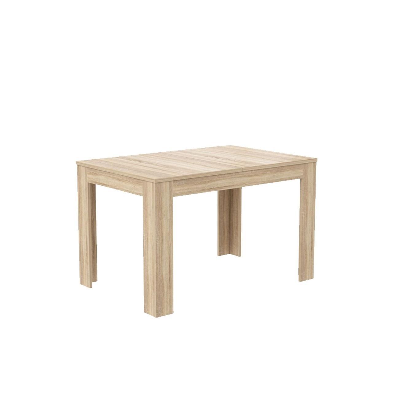 Стол обеденный деревянный EST405-D30 DINNING TABLES Forte дуб сонома