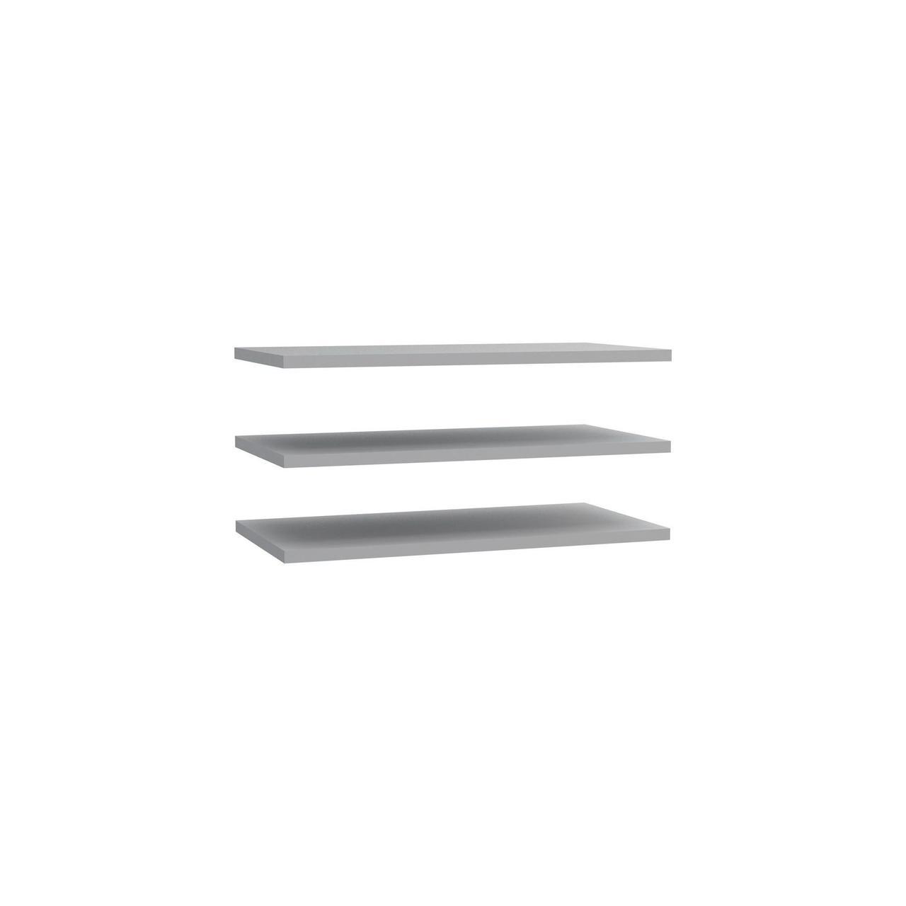 Полка 3 шт. DMRD82-A06 DREAMER Forte серый