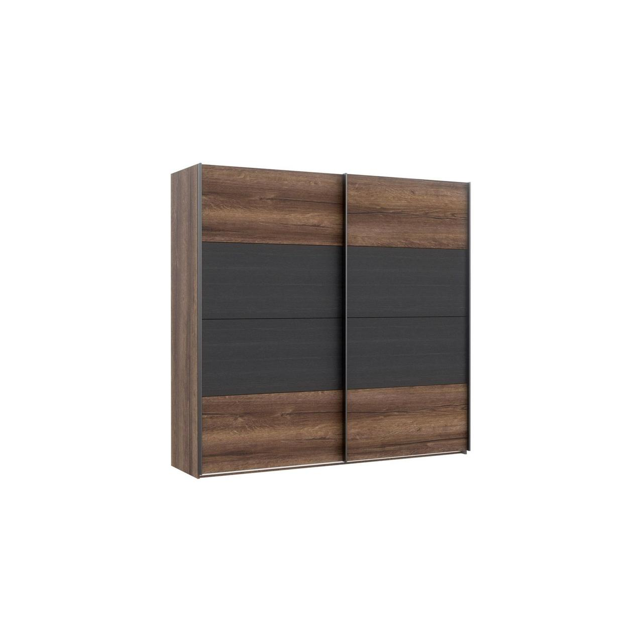 Шкаф RMRS324E1-N09 DREAMER Forte дуб благородный/черный