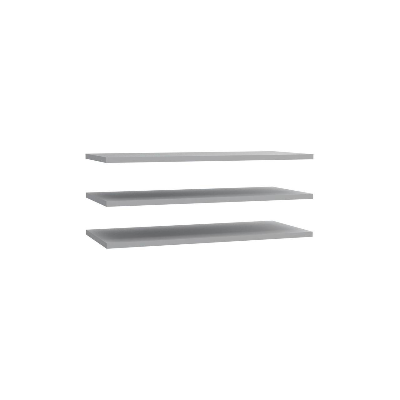 Полка 3 шт. STDD32-A06 DREAMER Forte серый