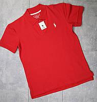 Футболка-поло Ralph Lauren (мужская, красный)