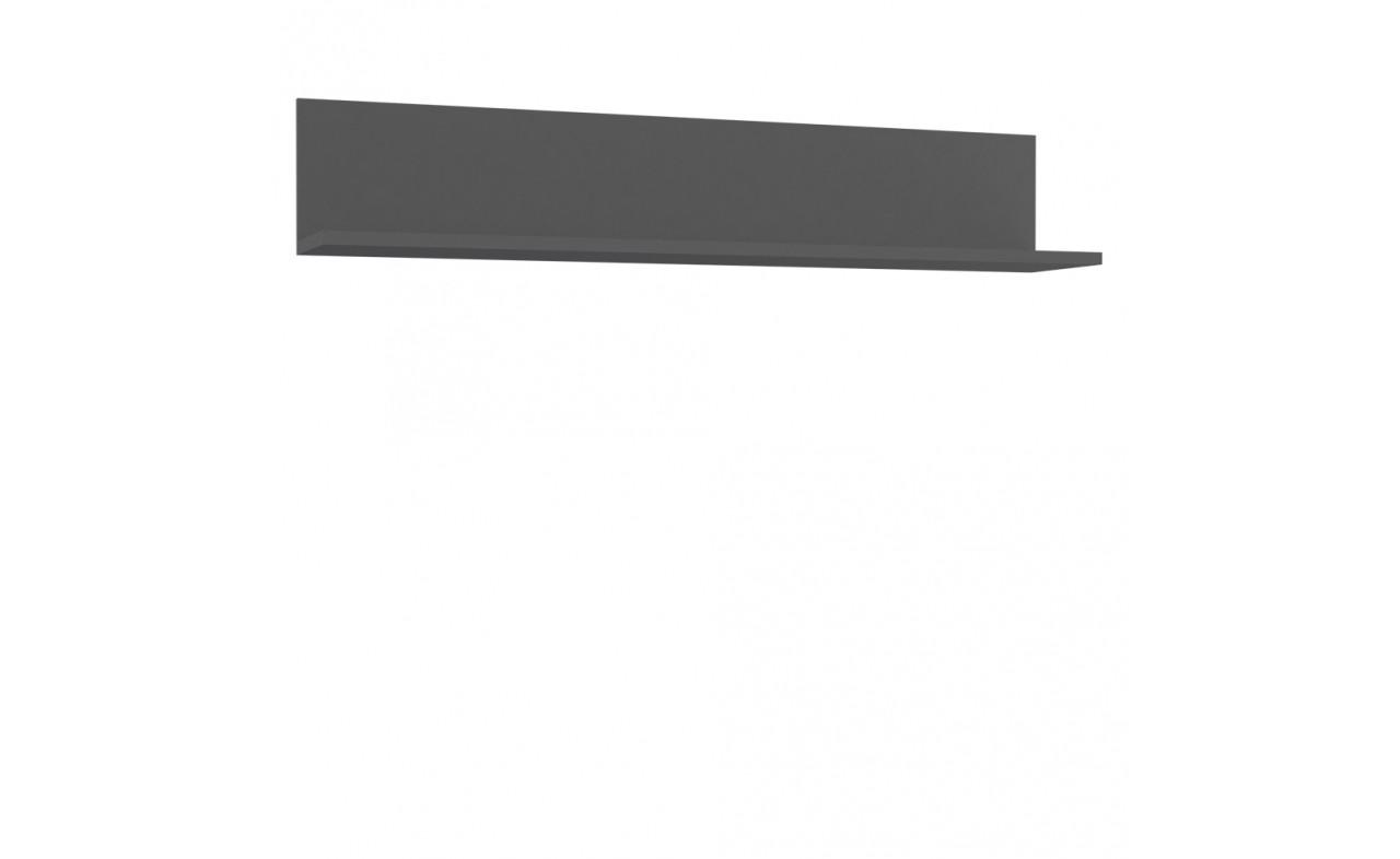 Полка LBLB01-U02 LIBELLE Forte серый матовый