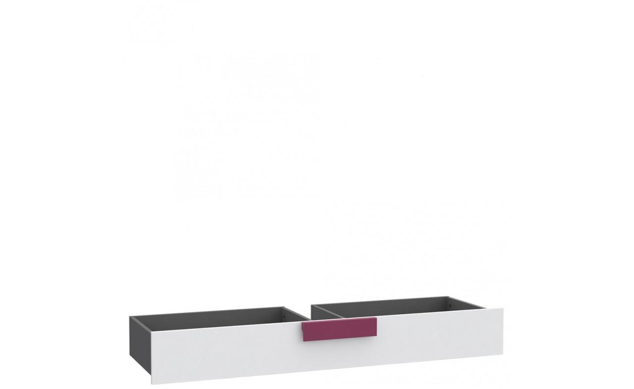 Ящик подкроватный LBLL01-P83 LIBELLE Forte серый матовый/белый/фиолетовый