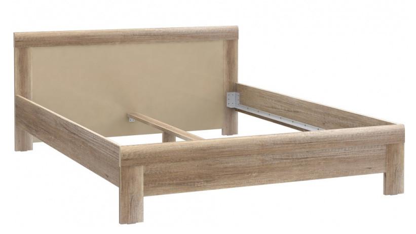 Кровать MLVL162-T15 MALVAGIO Forte дуб античный/бежевый глянец