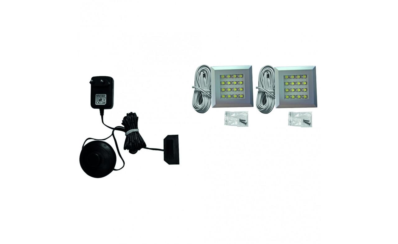 Подсветка LED 2 IZLED09-01-WW01 OŚWIETLENIE Forte белый холодный