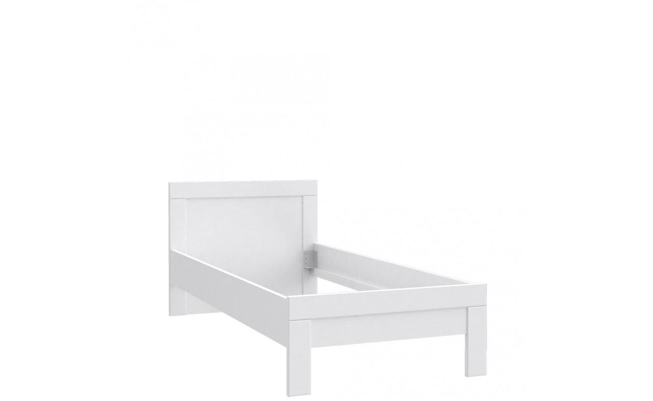 Кровать SNWL09-C50 SNOW Forte белый мат