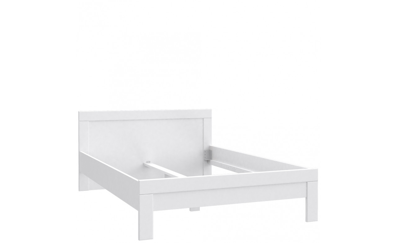 Кровать SNWL14-C50 SNOW Forte белый мат