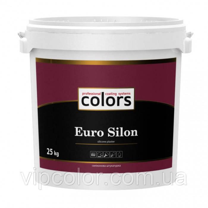 СOLORS Euro Silon силиконовая структурная штукатурка 25 кг