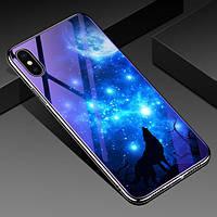 "TPU+Glass чехол Fantasy с глянцевыми торцами для Apple iPhone XS Max (6.5"")"