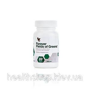 Филдз оф Гринз, Зеленые Поля, содержит калий, магний, железо, медь, фосфор, цинк, марганец, витамины А,В6,Е,К