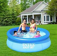 Надувной бассейн Intex 28112, 244 х 76 см + фильтрующий насос, фото 2