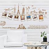 Виниловая наклейка на стену декоративная (140х76см) (94877629), фото 5