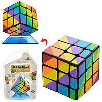 Кубик РубикаYJ8530, 3х3, 5,5-5,5-5,5см, в слюде, 15-21-7,5см