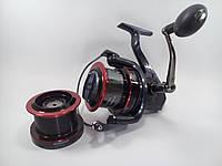 Катушка рыболовная карповая EOS EM8000 5+1bb