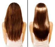 Гаряче обгортання волосся