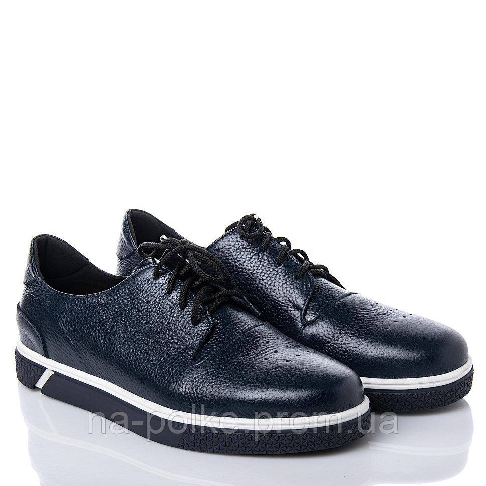 Туфли Синяя кожа флотар
