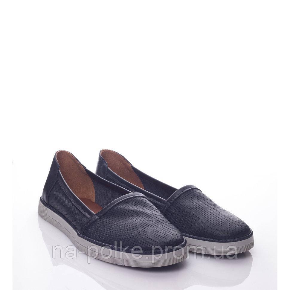Туфли Синяя кожа