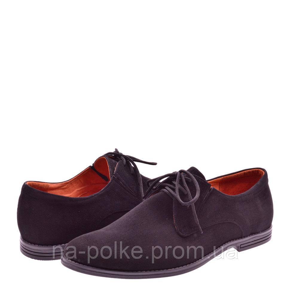 Туфли Черная замша
